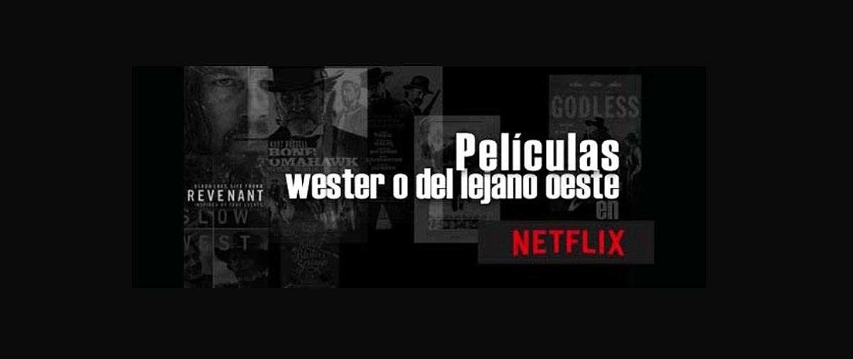 Películas de western en Netflix